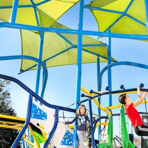 The Stadium - Obstacle Course School Playground Equipment gallery thumbnail