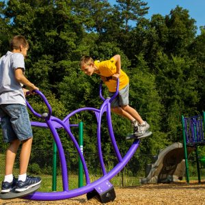 Bright School Playground with Climbers and Seesaws gallery thumbnail
