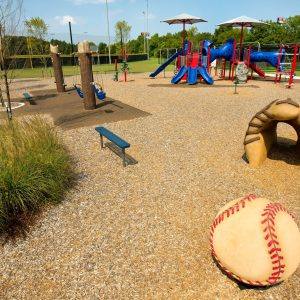 Baseball-Themed Playground with Shade in Georgia gallery thumbnail