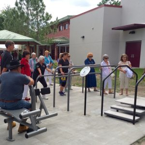 Accessible Outdoor Fitness Park in Florida gallery thumbnail
